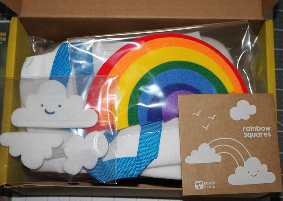 Rainbow Theme January 2017 Box