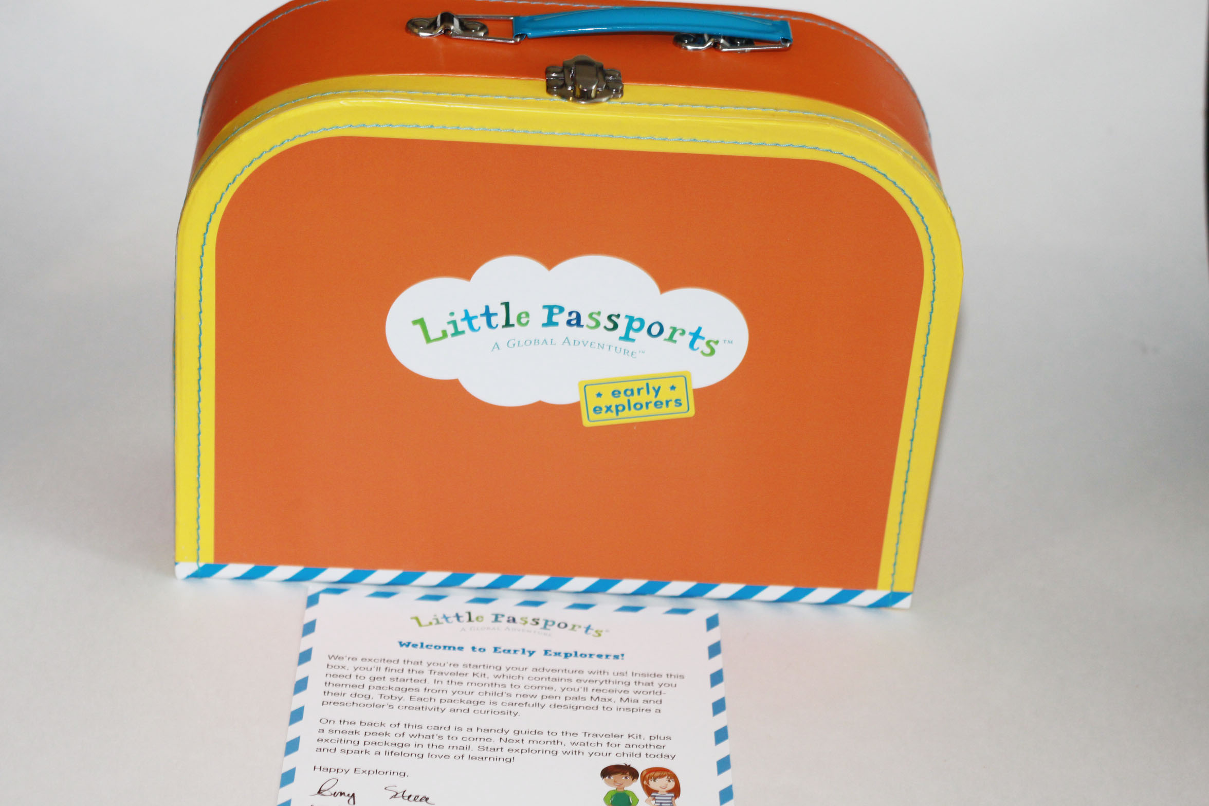 Little Passports Early Explorers Welcome Kit - Review