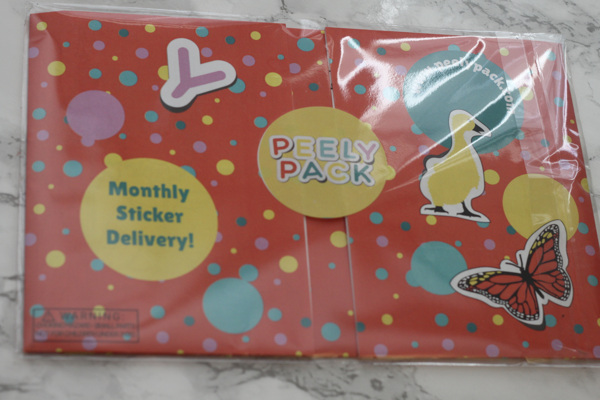 Peely Pack March 2017 Subscription Review
