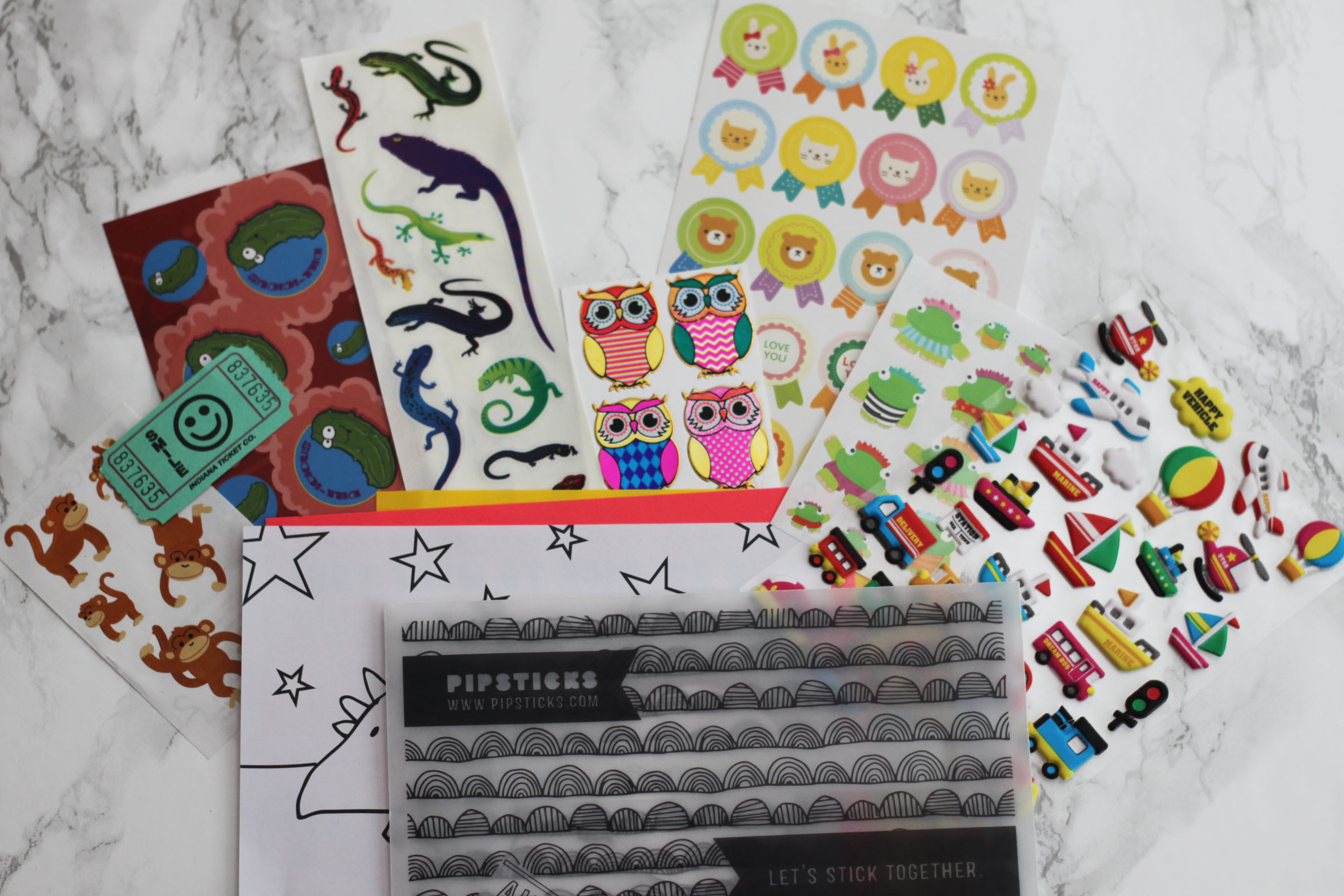 Pipsticks Kids Subscription Review April 2017